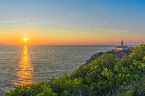 Bild vom Sonnenuntergang